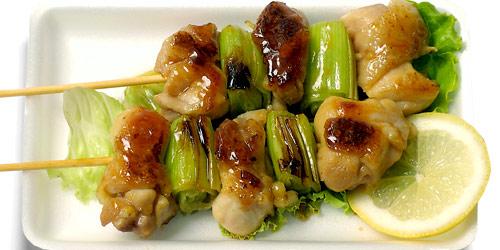 Yakitori - chicken skewers